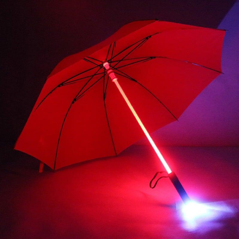 Светящийся (джедайский) зонт на Алиэкспресс