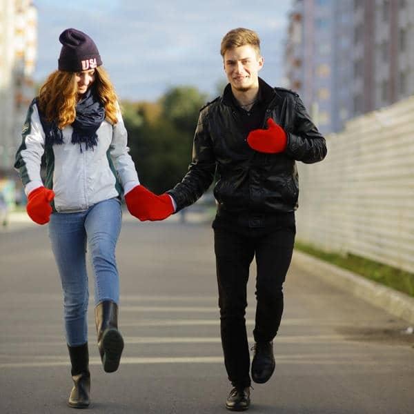 Варежки для влюблённых | Подарки с Алиэкспресс