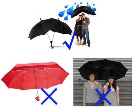 Зонт для двоих на Алиэкспресс