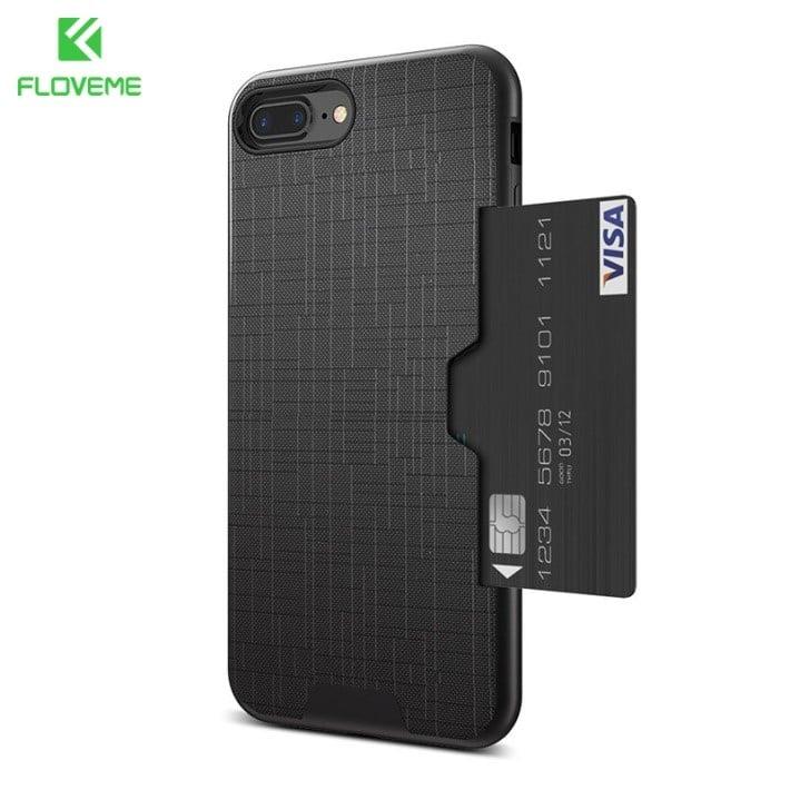 Чехол для iphone с отделением для карт