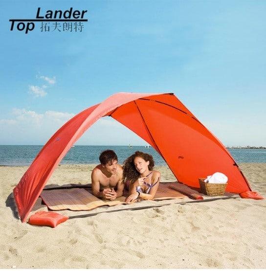 Пляжная палатка от солнца