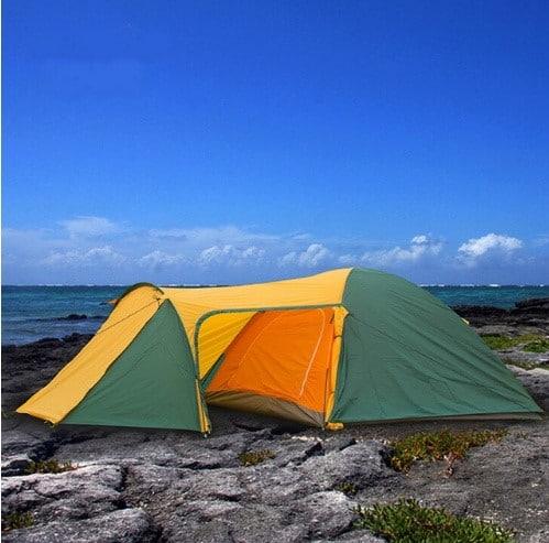 Теплая палатка для прохладного климата