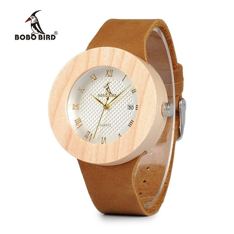 Деревянные часы от Bobo Bird