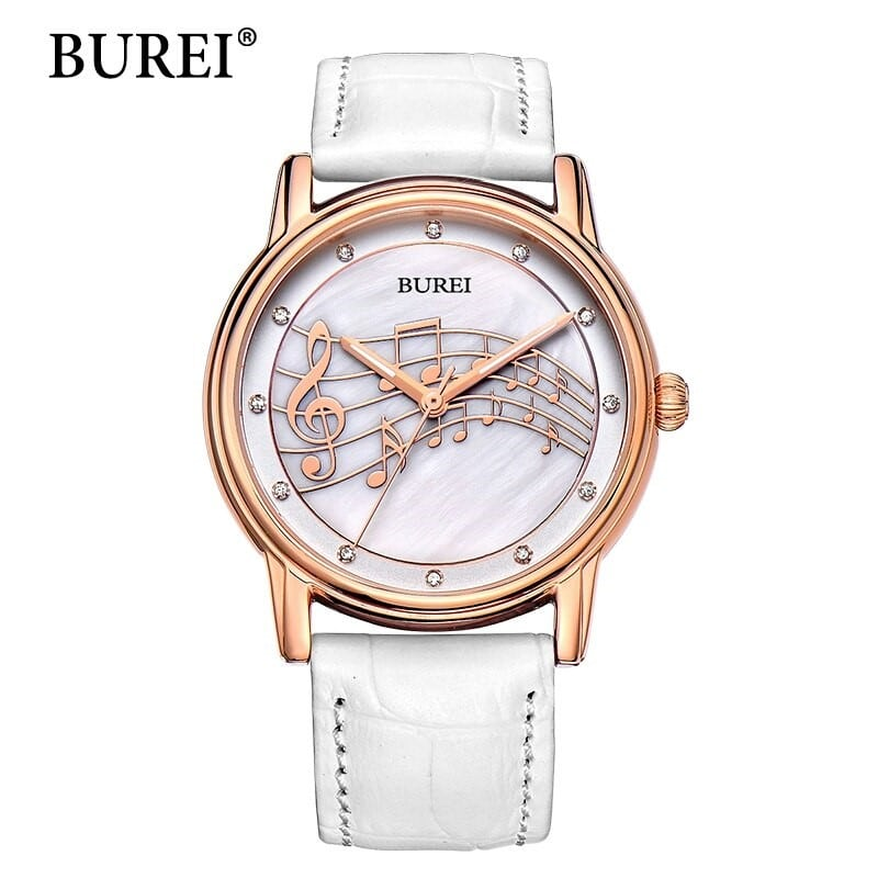 Кварцевые часы BUREI