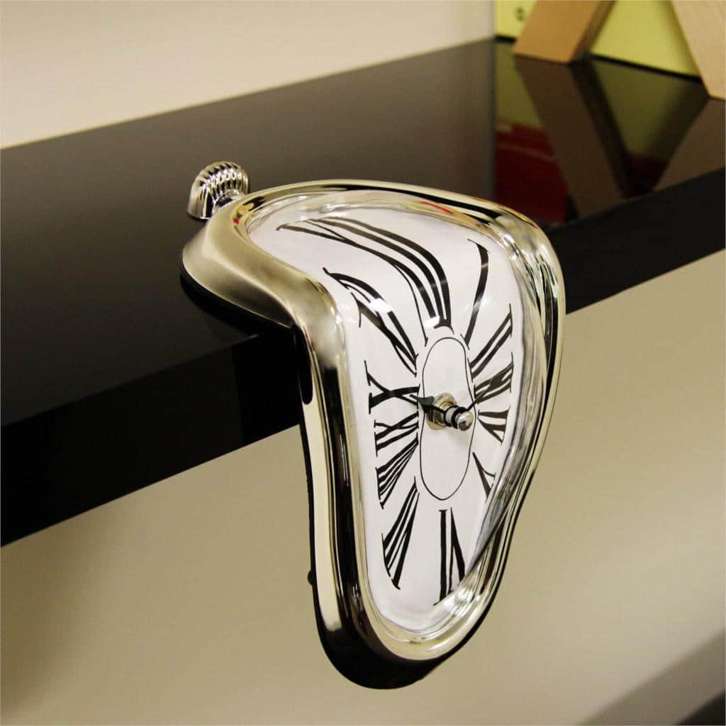 Мягкие часы в стиле Сальвадора Дали с Алиэкспресс