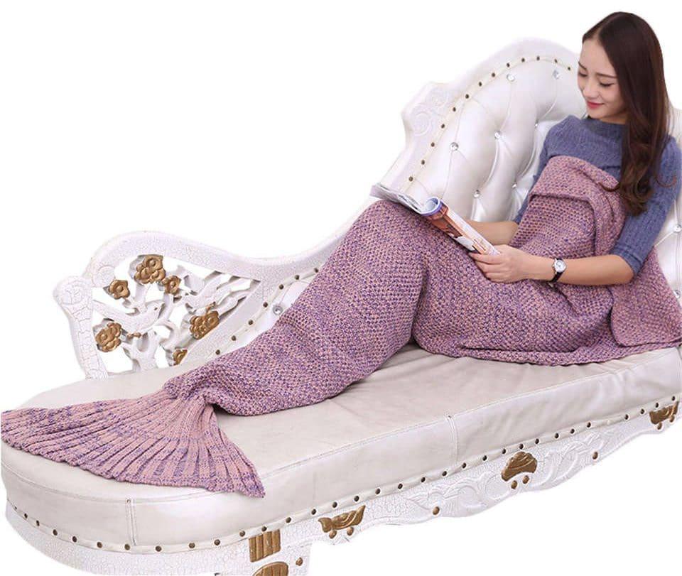 """Одеяло """"Хвост русалки"""" на Аликспресс"""