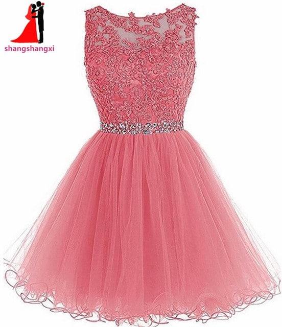 Короткое бальное платье на Алиэкспресс