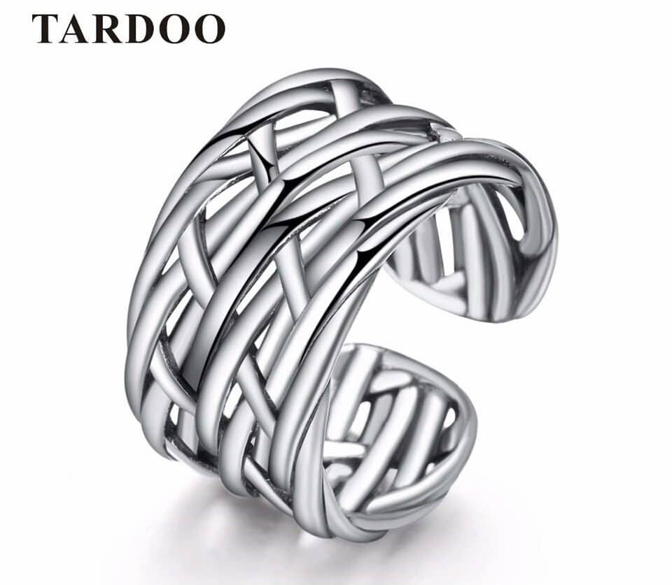 Плетеное кольцо на Алиэкспресс