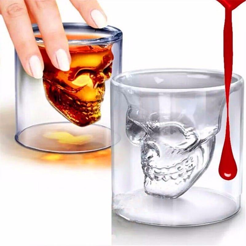 Стакан с черепом для виски на Алиэкспресс