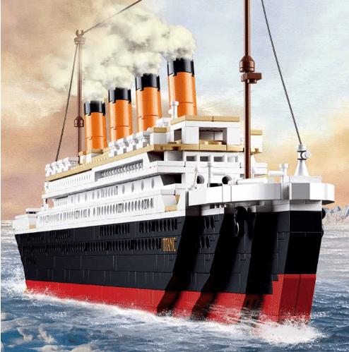 Конструктор «Титаник»— более 1000 деталей
