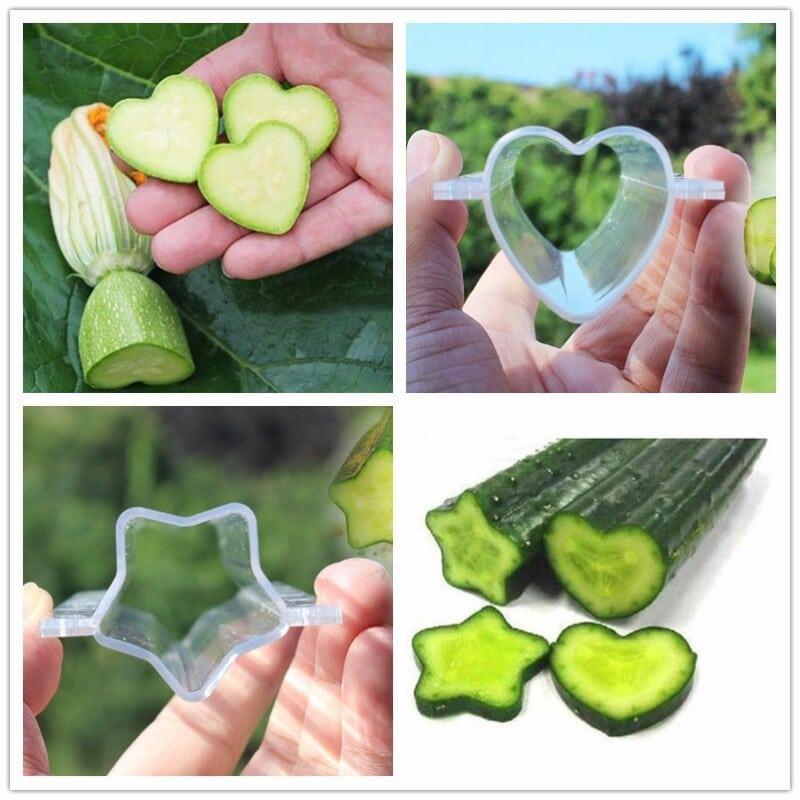 Форма для выращивания фигурных овощей с Алиэкспресс