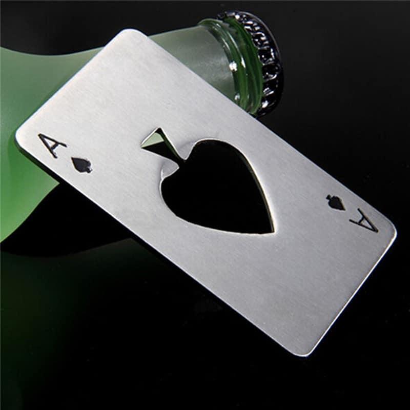 Игральная карта-открывалка для бутылок на Алиэкспресс