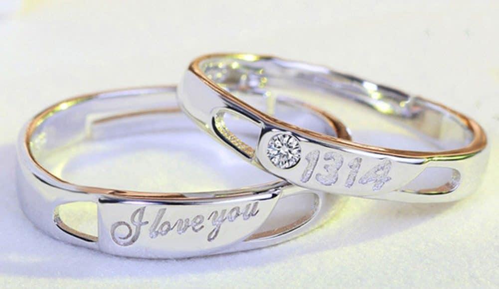 Кольца для влюбленных на Алиэкспресс