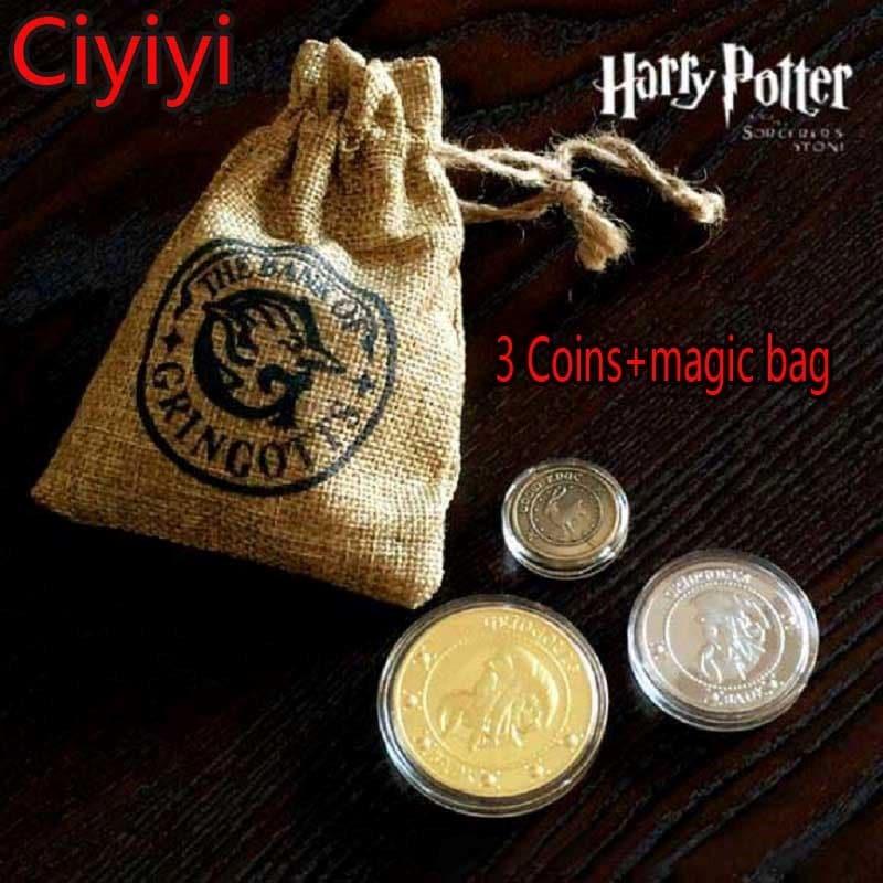 Монеты из Гарри Поттера купить на Алиэкспресс