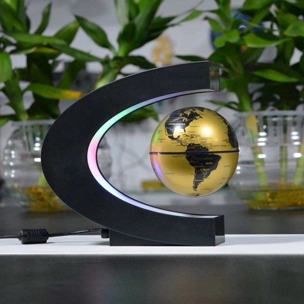 Лампа с парящим магнитным глобусом на Аликспресс
