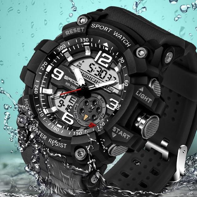 Спортивные водонепроницаемые часы на Аликспресс