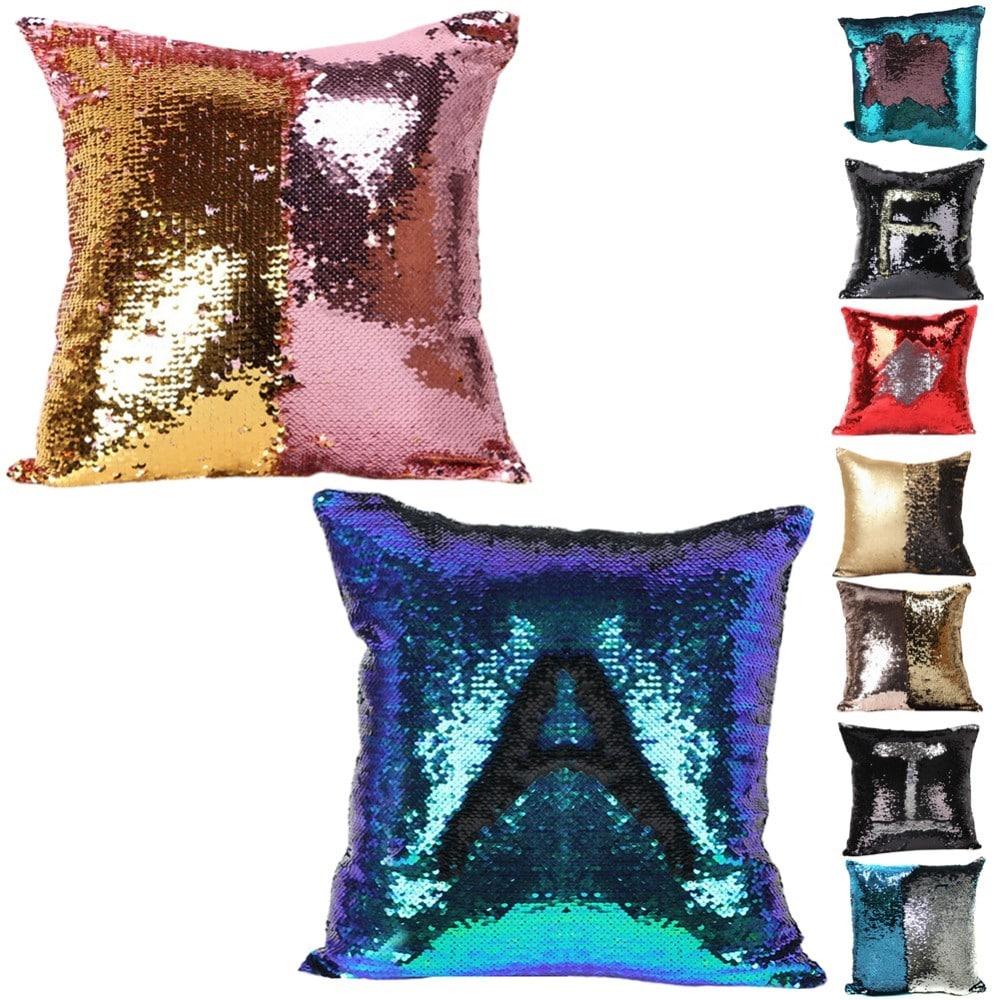 Подушка с пайетками, меняющая цвет на Аликспресс