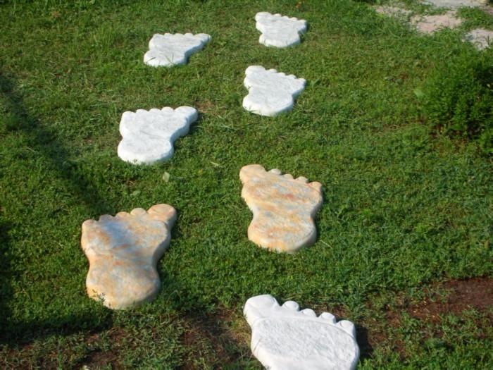 Форма для садовой дорожки «Следы гиганта» с Алиэкспресс