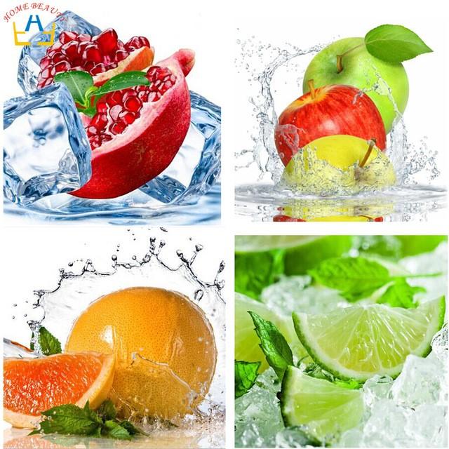 Алмазная вышивка с фруктами на Аликспресс