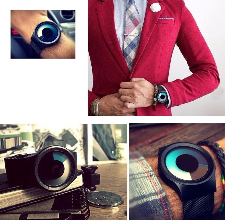 Стильные наручные часыGeekthink с Алиэкспресс