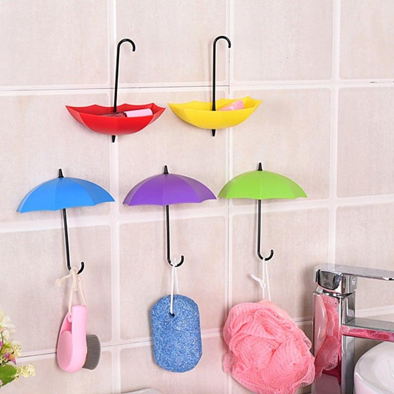 """Красочные крючки """"Зонтики"""" купить"""