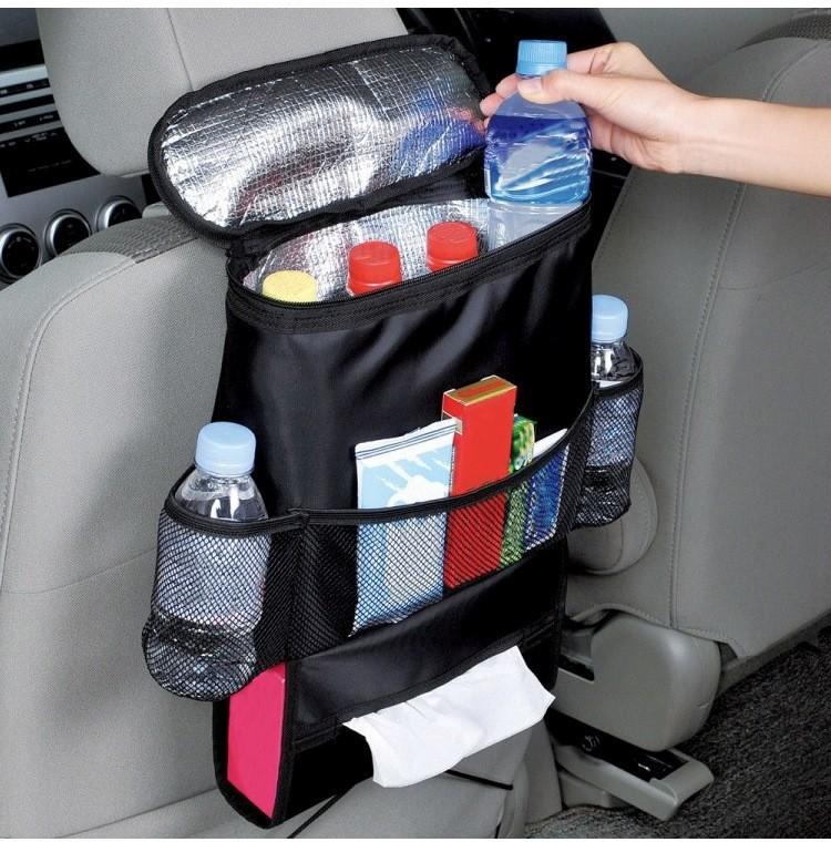 Термосумка-органайзер на переднее сидение автомобиля на Аликспресс