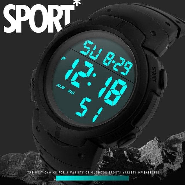 Светодиодные цифровые часы на Аликспресс