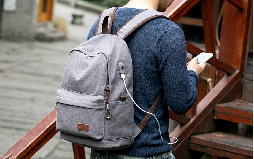 Рюкзак с USB зарядкой с Алиэкспресс
