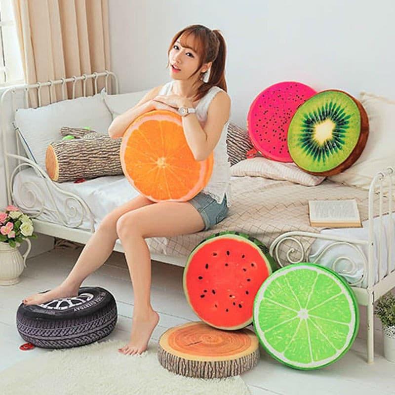 Подушки-фрукты на Аликспресс