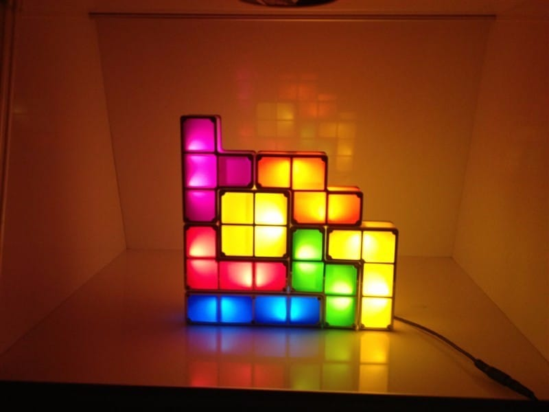 Светильник-тетрис на Аликспресс