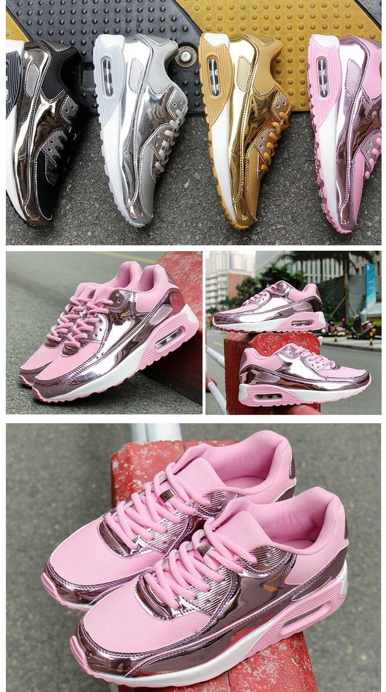 Лакированные кроссовки купить на Алиэкспресс