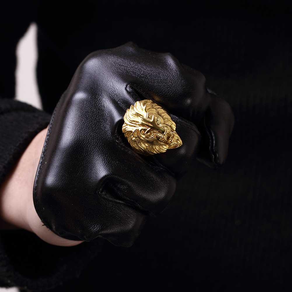 Перстень со львом купить на Алиэкспресс