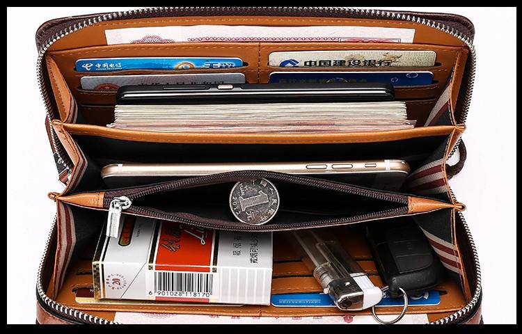 Кожаный кошелек с Алиэкспресс