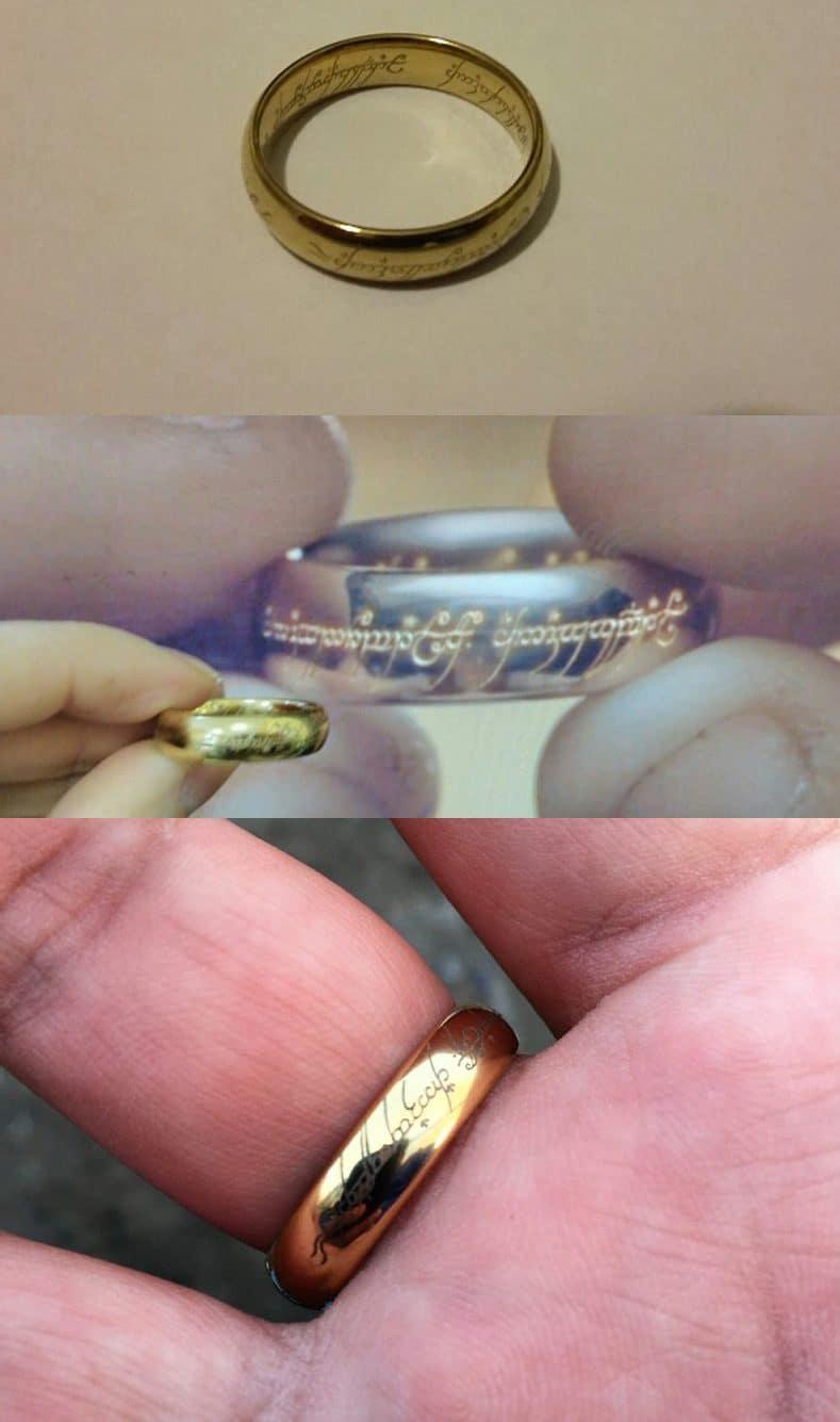 Кольцо Всевластия купить на Алиэкспресс