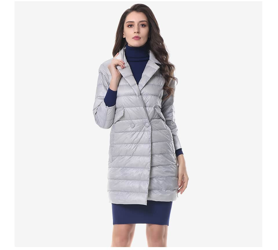 Классическое пуховое пальто с Алиэкспресс