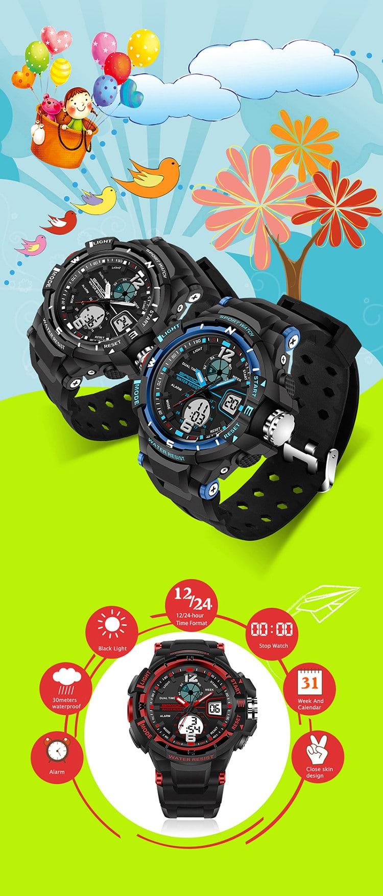 Стильные часы для подростков на Алиэкспресс