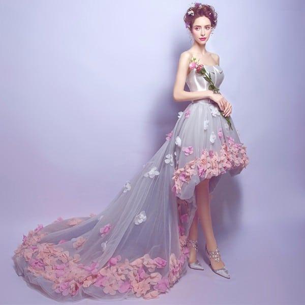 Платье с асимметричной юбкой на Алиэкспресс