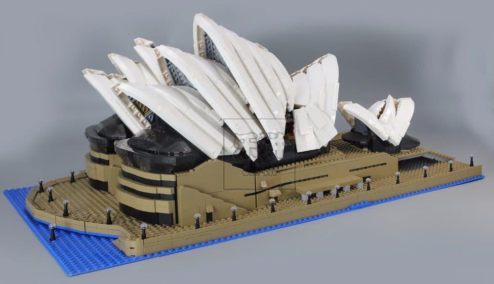 Конструктор «Сиднейский театра»— почти 3000 деталей