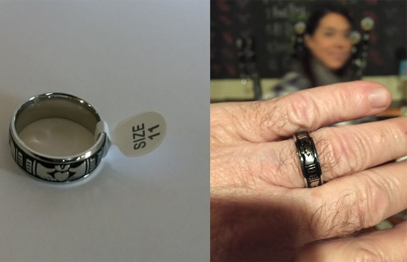 Кладдахское кольцо купить на Алиэкспресс