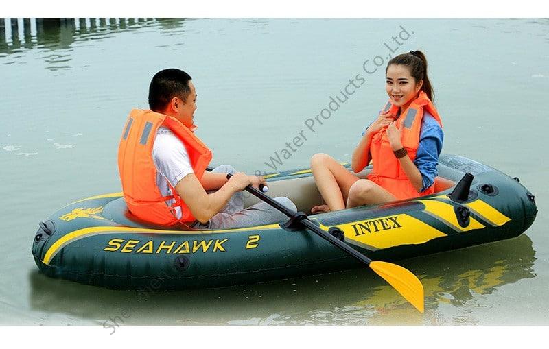 Двухместная надувная лодка на Аликспресс