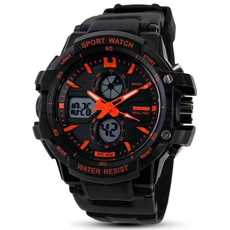 Спортивные водонепроницаемые часы для подростков на Алиэкспресс