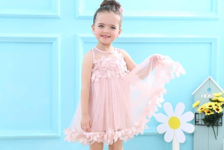 10 красивых платьев для девочек с Алиэкспресс