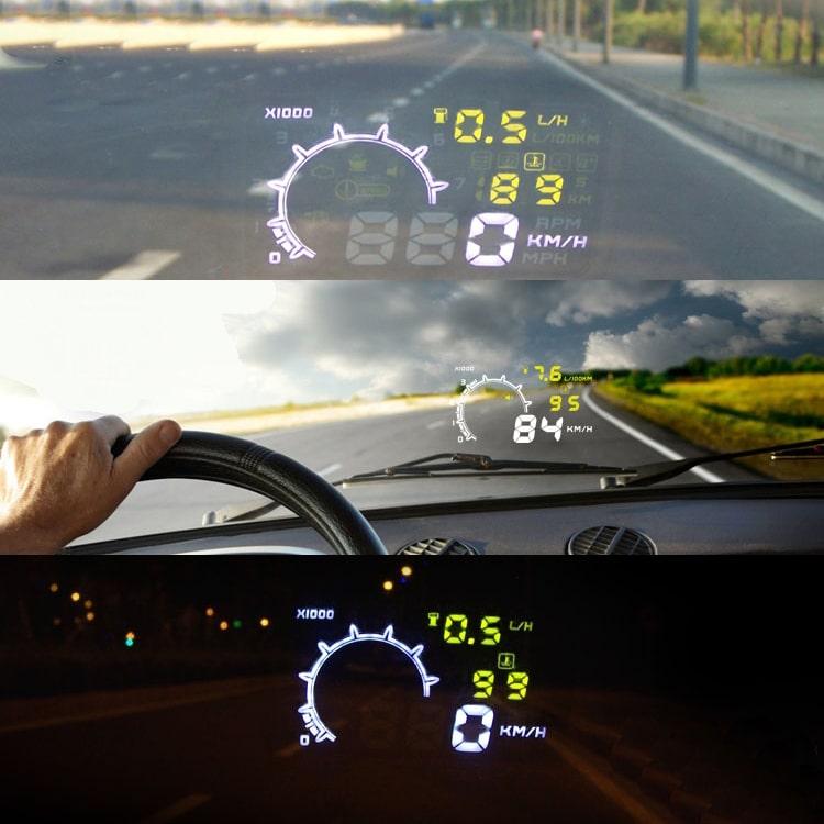 Проектор на лобовое стекло автомобиля на Аликспресс