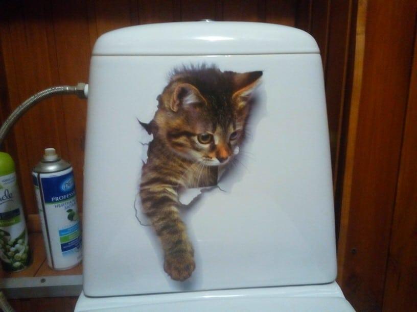 Наклейки с котятами купить на Алиэкспресс