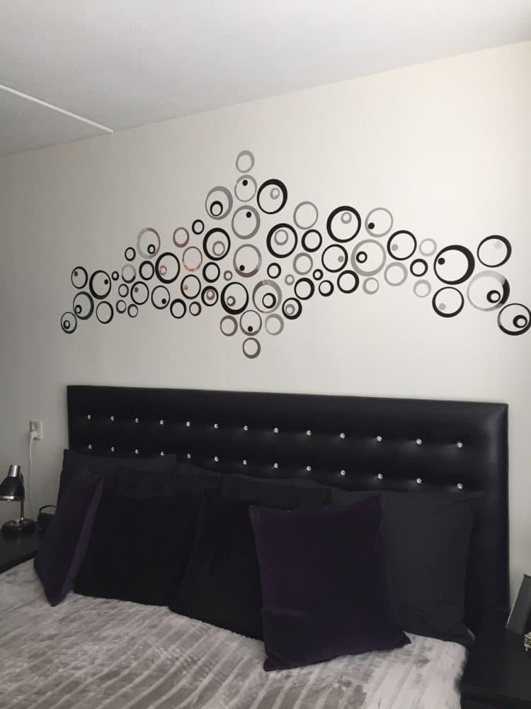 Зеркальные наклейки на стену купить на Алиэкспресс