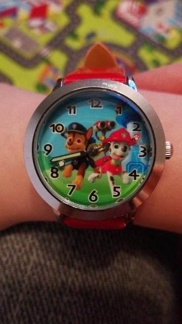 """Часы для детей """"Щенячий патруль"""" на Алиэкспресс"""