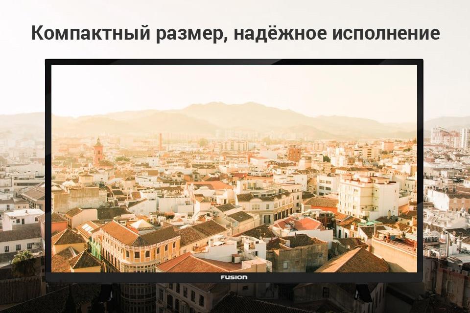 "Телевизор LED 28"" Fusion FLTV-30B100 купить на Алиэкспресс"