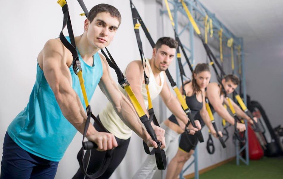 Подвесные ремни (TRX) для тренировок на Алиэкспресс