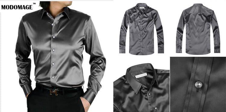 Шелковая рубашка купить на Алиэкспресс