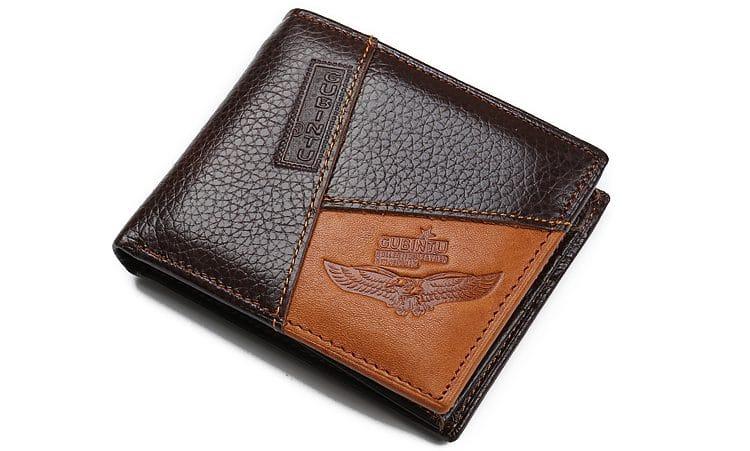 Кожаный кошелек GUBINTU купить на Алиэкспресс